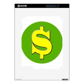 The Symbol of Wealth iPad 2 Decals