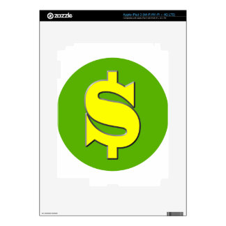 The Symbol of Wealth iPad 3 Decal