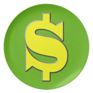 The Symbol of Wealth Melamine Plate