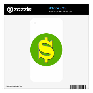 The Symbol of Wealth Skin For iPhone 4S