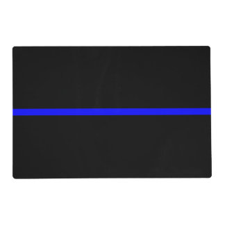 The Symbolic Thin Blue Line Concept Placemat