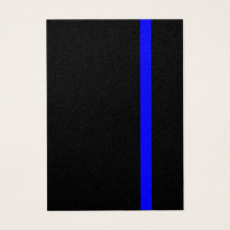 The Symbolic Thin Blue Line Decor Business Card