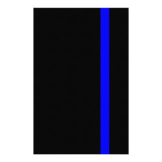 The Symbolic Thin Blue Line Decor Flyer