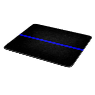 The Symbolic Thin Blue Line Graphic Cutting Board