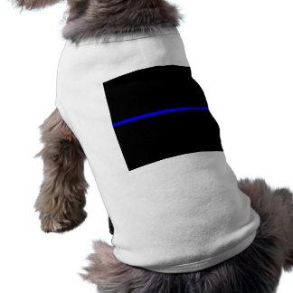 The Symbolic Thin Blue Line Graphic T-Shirt