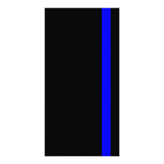The Symbolic Thin Blue Line on Black Card