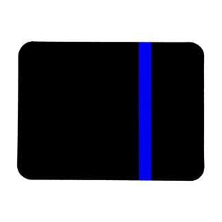 The Symbolic Thin Blue Line on Black Magnet