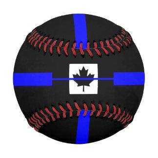 The Symbolic Thin Blue Line on Canadian Maple Leaf Baseball