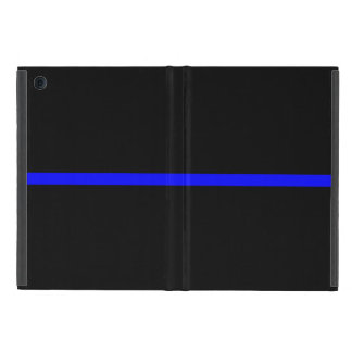 The Symbolic Thin Blue Line Statement Covers For iPad Mini