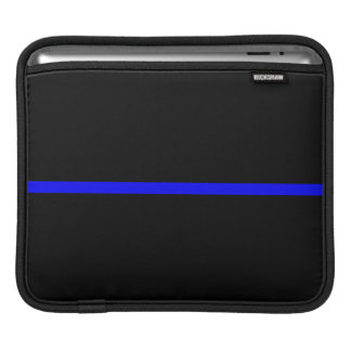The Symbolic Thin Blue Line Statement Sleeve For iPads