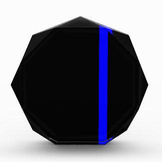 The Symbolic Thin Blue Line Vertical Acrylic Award