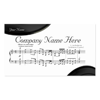 The Symphony No. 9 Double-Sided Standard Business Cards (Pack Of 100)