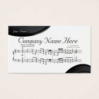 The Symphony No. 9 Business Card
