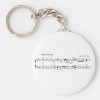The Symphony No. 9 Keychain