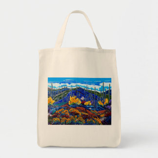 The Symphony of Spring II Grocery Bag