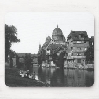 The synagogue at Nuremberg, c.1910 Mouse Pad