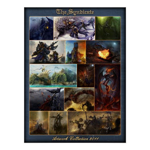 The Syndicate Artwork Collection Posters