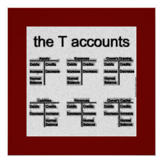 """The T Accounts"" Poster"
