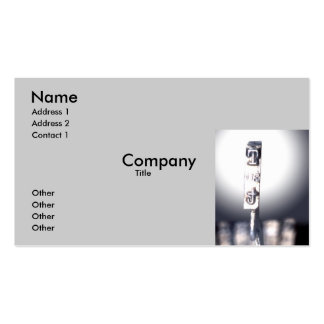 The T Double-Sided Standard Business Cards (Pack Of 100)
