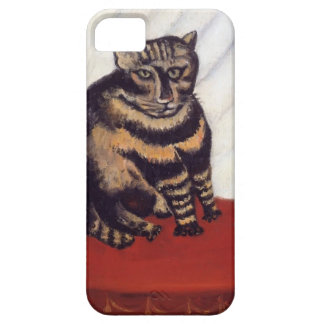The Tabby  by Henri Rousseau iPhone 5 Cover