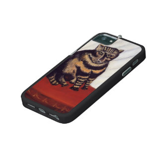 The Tabby  by Henri Rousseau iPhone 5 Covers