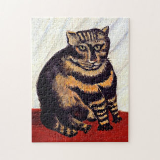 The Tabby by Rousseau  - Puzzle