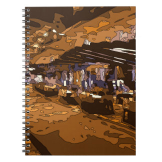 The Table Games of a Luxurious Vegas Casino Spiral Notebooks