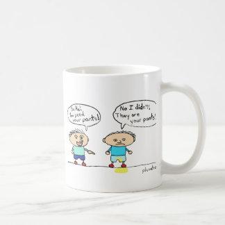 the table has turned mug