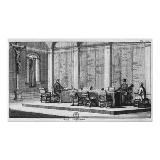 The Table of Inquisition Print