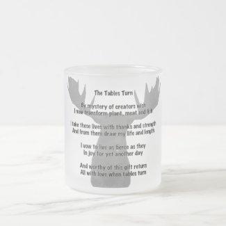 The Tables Turned Coffee Mug