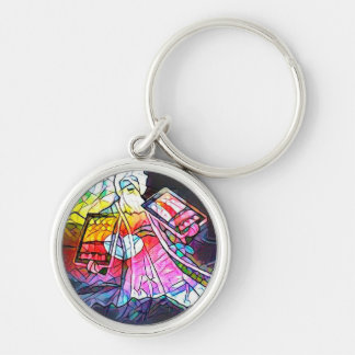 The Tablets of Moses Keychain