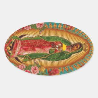 The Taco Saint Oval Sticker