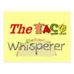 The Taco Whisperer Post Card