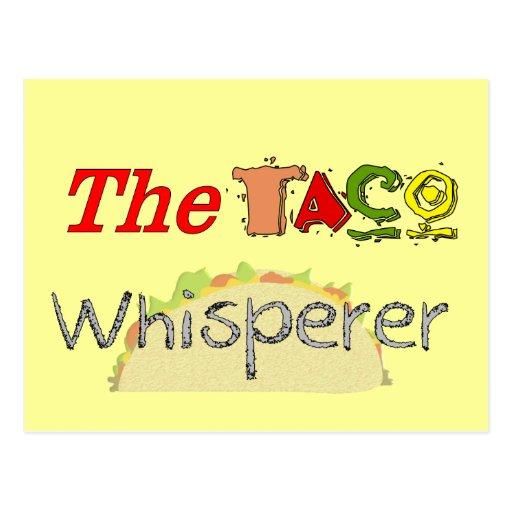 The Taco Whisperer Postcard