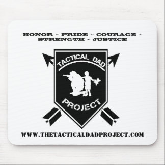 The Tactical Dad Project Mouse Pad