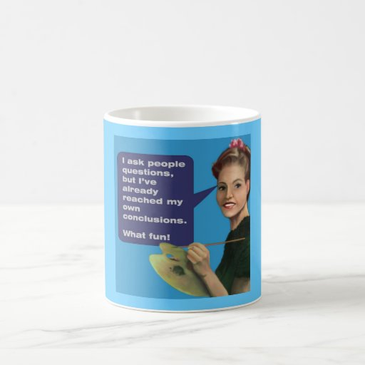 The tactless Artist Coffee Mug