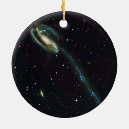 The Tadpole Galaxy UGC 10214 Ceramic Ornament