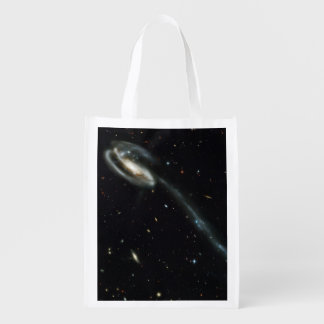 The Tadpole Galaxy Grocery Bags