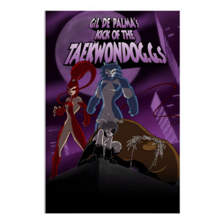 The TAEKWONDOGGS Poster