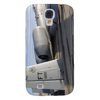 The tail section of an A-10 Thunderbolt II Galaxy S4 Case