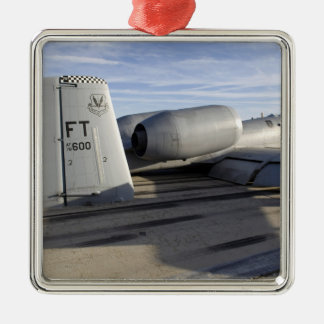The tail section of an A-10 Thunderbolt II Metal Ornament