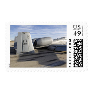 The tail section of an A-10 Thunderbolt II Postage