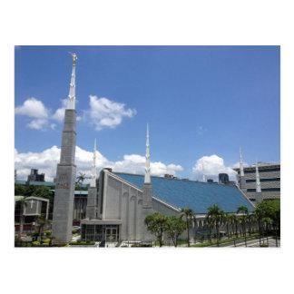 The Taipei Taiwan LDS Temple Postcard