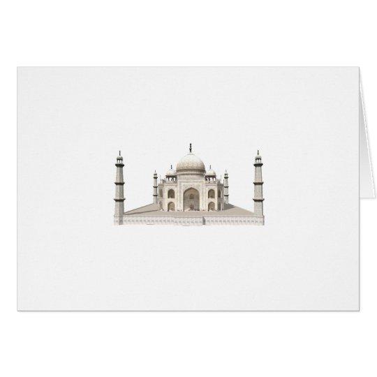 The Taj Mahal: 3D Model: Card