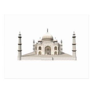 The Taj Mahal: 3D Model: Postcard