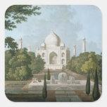 The Taj Mahal, Agra, from the Garden Square Sticker