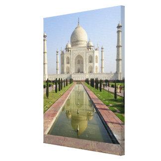 The Taj Mahal, Agra, Uttar Pradesh, India, Canvas Print