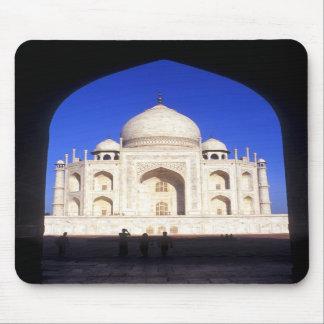 The Taj Mahal at Agra India Mousepads
