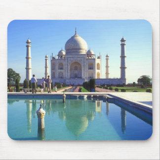 The Taj Mahal at Agra India Mousepad