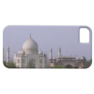 the Taj Mahal dominates the town of Agra iPhone 5 Case